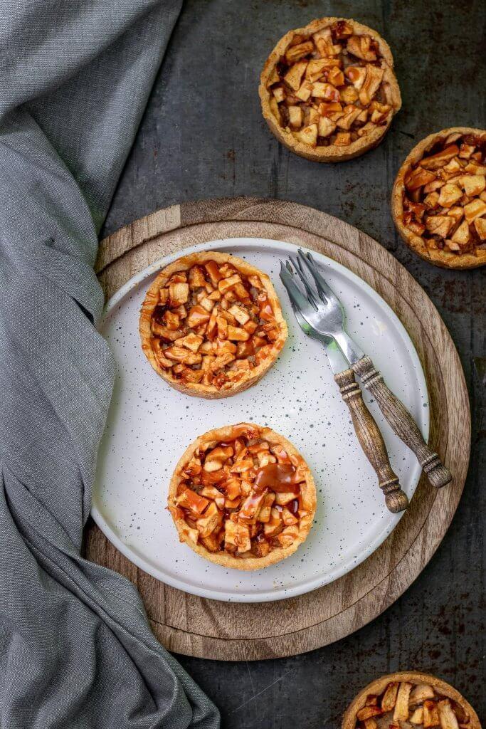 Recept voor mini appeltaartjes met spijs