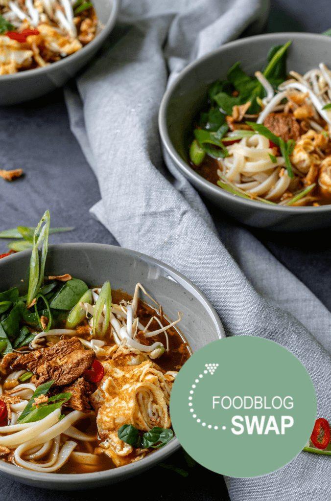 Foodblogswap   Oosterse kippensoep
