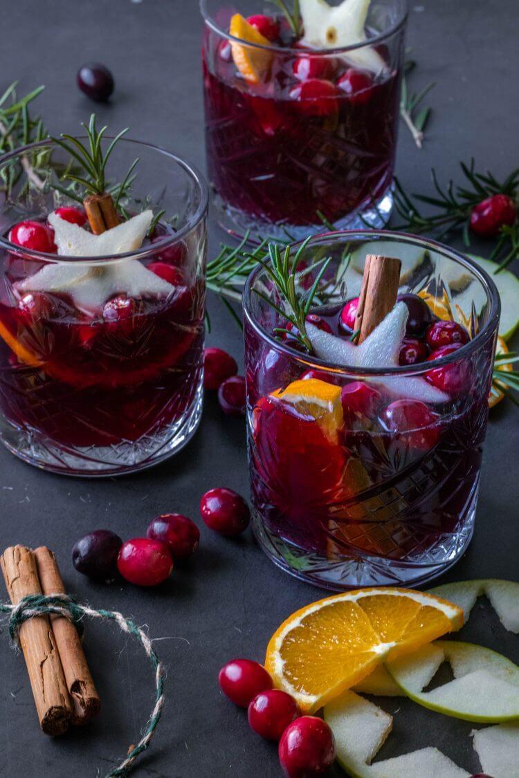 Recept voor winterse Sangria