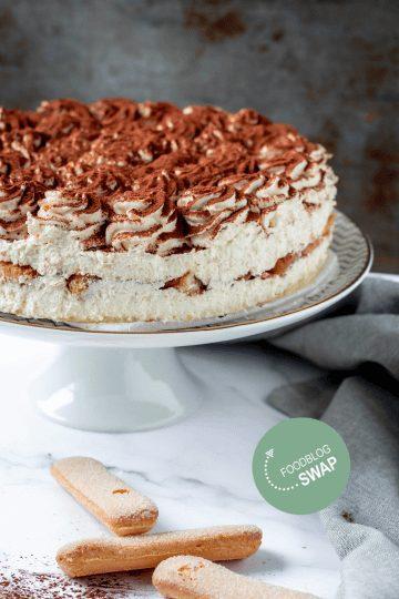 Tiramisu taart recept