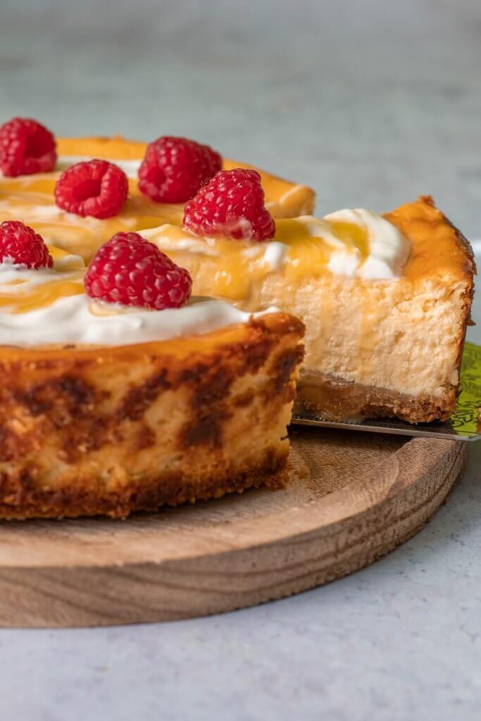 Recept voor heerlijke frisse citroencheesecake